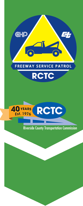 Free Way Service Patrol and RCT 40th Anniversary